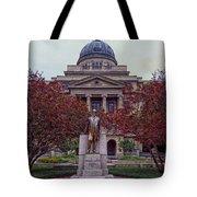 Campus Of Texas Am Tote Bag