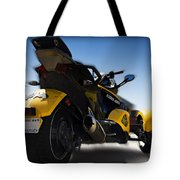 Can-am Spyder Tote Bag
