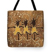 Can Can Dancers Tote Bag