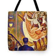 Can Can Le Chahut Tote Bag