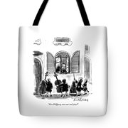 Can Wolfgang Come Out And Play? Tote Bag