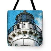 Cana Island Lighthouse Tower Tote Bag