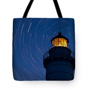 Cana Island Lighthouse Solstice Tote Bag