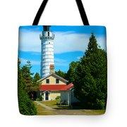 Cana Island Wi Lighthouse Tote Bag