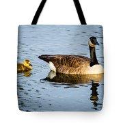 Canada Goose And Gosling Tote Bag