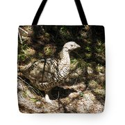 Canada Grouse Tote Bag
