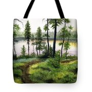 Canada Morning Tote Bag