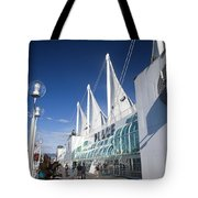 Canada Place Vancouver Tote Bag