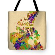 Canada Watercolor  Tote Bag