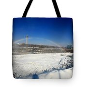 Canadain Rainbow Tote Bag