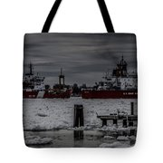 Canadian And United States Icebreakers Tote Bag