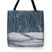 Canadian Backyard Tote Bag