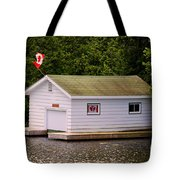 Canadian Boathouse  Tote Bag