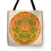 Canadian Fall Colors Conversion Into Chakra Wheel Deco Enery Mandala Tote Bag