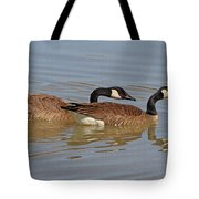 Canadian Geese Mates Tote Bag