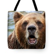 Canadian Grizzly Tote Bag