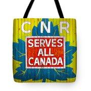 Canadian National Railway Stamp Tote Bag
