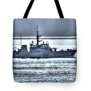 Canadian Navy Nanaimo M M702 Tote Bag