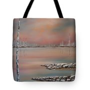 Canadian Northern Reflections Tote Bag by Beverly Livingstone