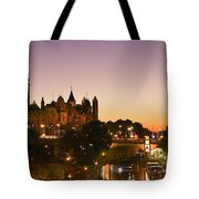 Canadian Parliament Buildings Tote Bag by Tony Beck