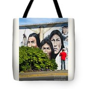 Canadian Retrospective Tote Bag