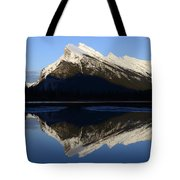 Canadian Rockies Mount Rundle 1 Tote Bag