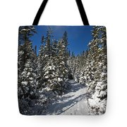 Canadian Winter Wonderland.. Tote Bag