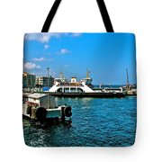 Canakkale Ferry Dock-turkey Tote Bag