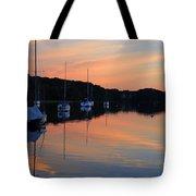 Canal Calm Tote Bag