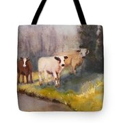 Canal Cows Tote Bag