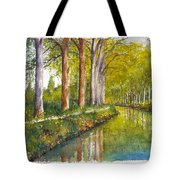 Canal Du Midi At Toulouse France Tote Bag
