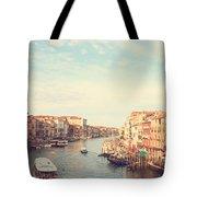 Canal Grande In Venezia Tote Bag