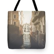Canal In Venice Italy Applying Retro Instagram Style Filter Tote Bag