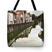 Canal Reflection  Tote Bag