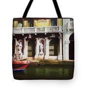 Canal Scene  Venice Italy Tote Bag
