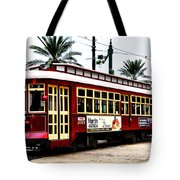 Canal Street Car Tote Bag