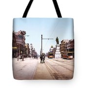 Canal Street New Orleans 1900 Tote Bag
