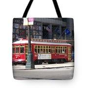 Canal Street Streetcar Tote Bag