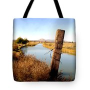Canal View  Mesilla Tote Bag