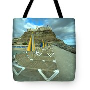 Canarian Loungers  Tote Bag