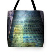 Canary Wharf Reflections Tote Bag