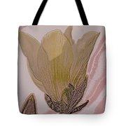 Canary Yellow Magnolia Tote Bag