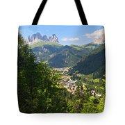 Canazei - Val Di Fassa Tote Bag