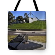 Canberra - Memorial And Parliament House Tote Bag