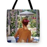 Candace Being Candlish On Canvas Tote Bag