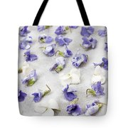 Candied Violets Tote Bag