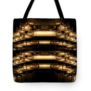 Candle Abstract 4 Tote Bag