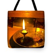 Candle And Incense Sticks Tote Bag