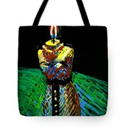 Candle Bust Tote Bag