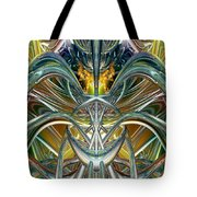 Candle Light Abstract Flame Fx  Tote Bag